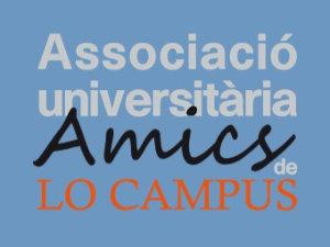 logo AMICS fons blau