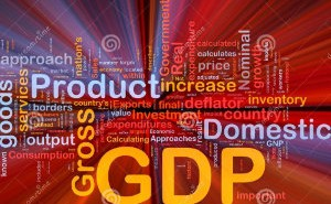 petit gdp-economy-background-concept-glowing-13468873