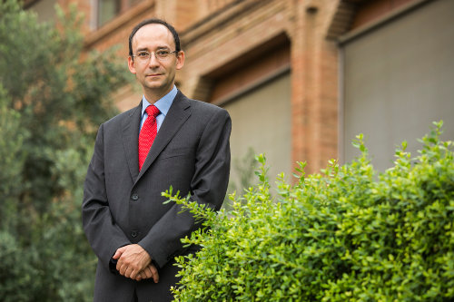 Fotografia JM Garrell, rector URL