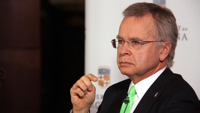 El candidat a rector de la UB Joan Elias