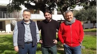 Plinio Montoya, Vicente D. Crespo y Francisco J. Ruiz_Sanchezweb