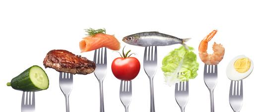 Gesunde fettarme Ernhrung