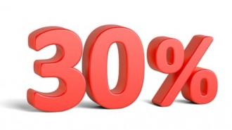 30-percent-sign
