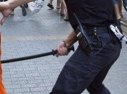 porras-policía