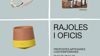 """Mostra temporal """" Rajoles i oficis. Propostes artesanes contempo"""