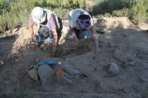 Intervenció arqueològica al Cogul (Garrigues), on s'han recupe