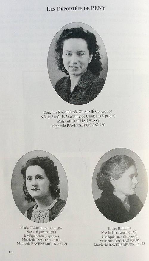 Conchita Ramos, Marie Ferrer i Elvira Beleta