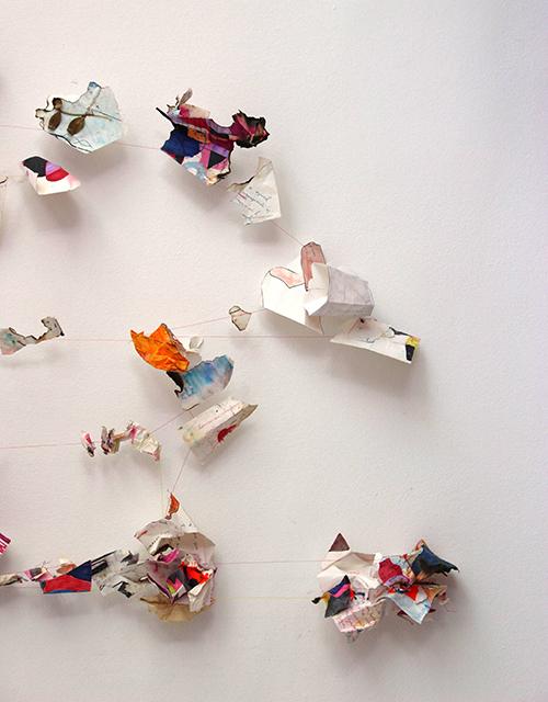 Projecte de Catalina Barrientos de l'exposició Ressonància